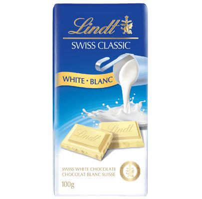 Lindt Swiss Classic White Chocolate