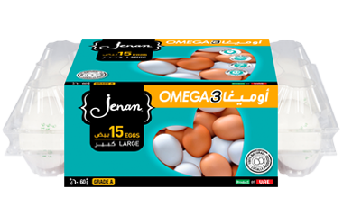Local Large White Eggs w/ Omega-3 x15