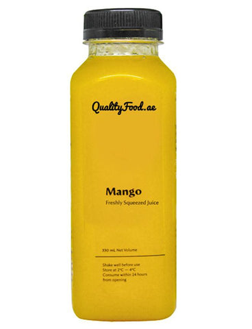"Fresh Mango Juice 330 ml  ""Sugar Added"""