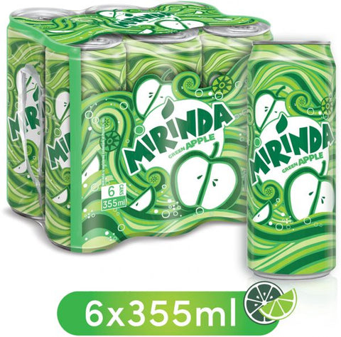 Buy Mirinda Apple 6 x 355ml | QualityFood.ae| |From PepsiCo Online food delivery Dubai Abu Dhabi and Sharjah