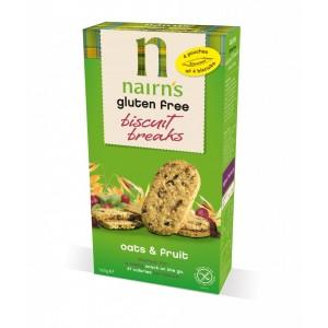 Gluten Free Biscuit Breaks Oats & Fruits