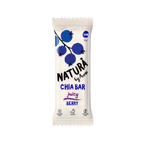 Organic Natura by Anne Juicy Berry Chia Bar