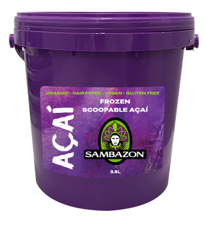 Buy Organic Frozen Acai Sorbet 3.6L | QualityFood.ae|Energy & Protein |From Brazil Online food delivery Dubai Abu Dhabi and Sharjah