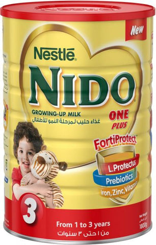 Nido Powdered Milk - One Plus 1.8Kg