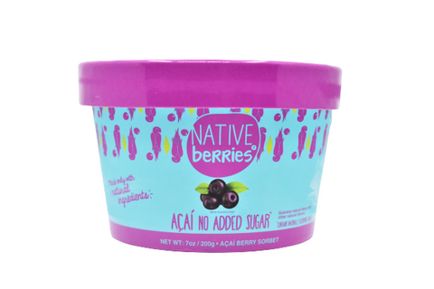 Native Berries Acai No Added Sugar Ready to Eat 200 grams