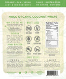 Organic Original Coconut Wraps