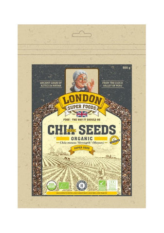 Organic Chia Seeds 500gm
