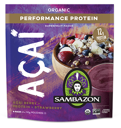 Organic Frozen Acai - Performance Protein 400gm
