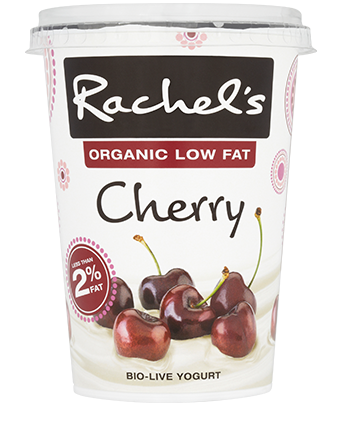 Organic Low Fat Cherry Yogurt