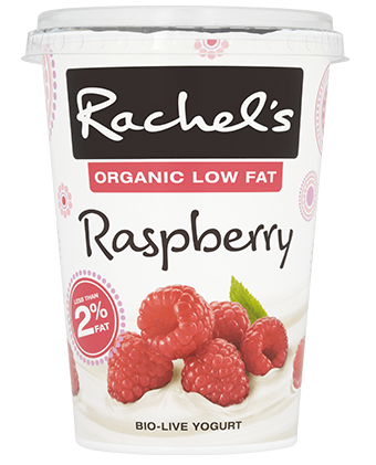 Organic Low Fat Raspberry Yogurt