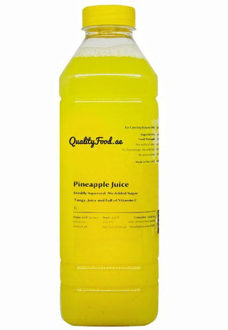 Fresh Pineapple Juice 1 Litre