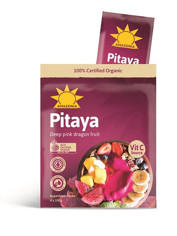 Organic Smoothie Packs, Pitaya/Dragonfruit - Case