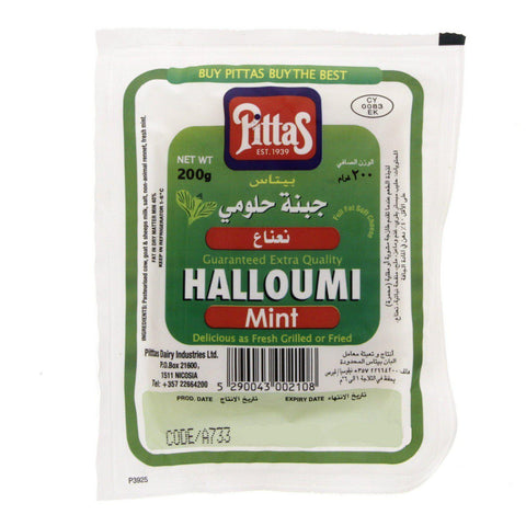 Pittas Halloumi Mint 200gm