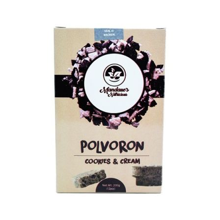 Polvoron - Cookies and Cream