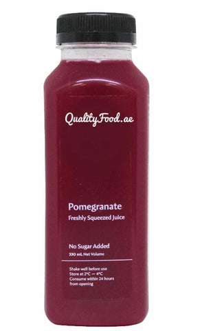 "Fresh Pomegranate Juice 1 Litre ""Cold Pressed"""