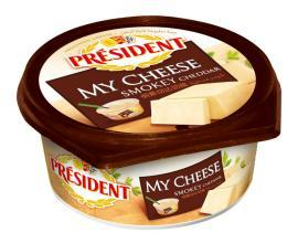 Président My Cheese Smokey Cheddar 125gm