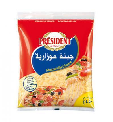 Président Shredded Cheese Mozzarella 200gm