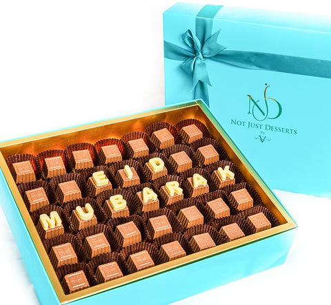 Customized Assorted Chocolate Box - 500gm