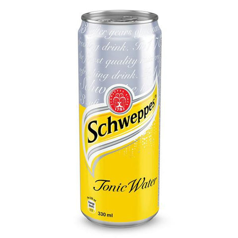 Schweppes Tonic Water 6 x 330ml