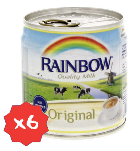 Evaporated Milk - Low Fat x6