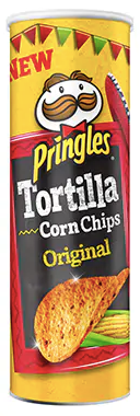 Pringles Tortilla Chips Spicy Spicy Green Pepper