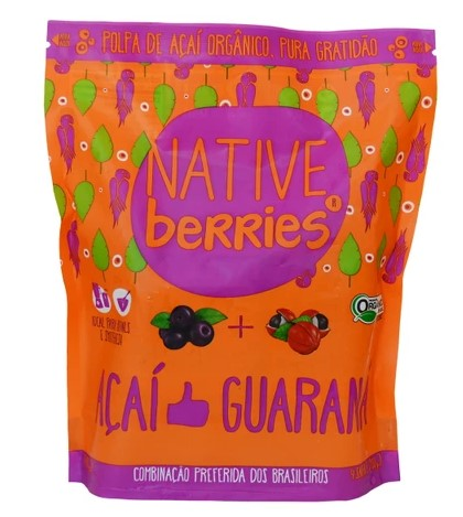 Organic Frozen Acai Guarana All Natural