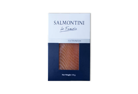 Smoked Salmon Loin Tsar Nikoiaj Cut 150gm