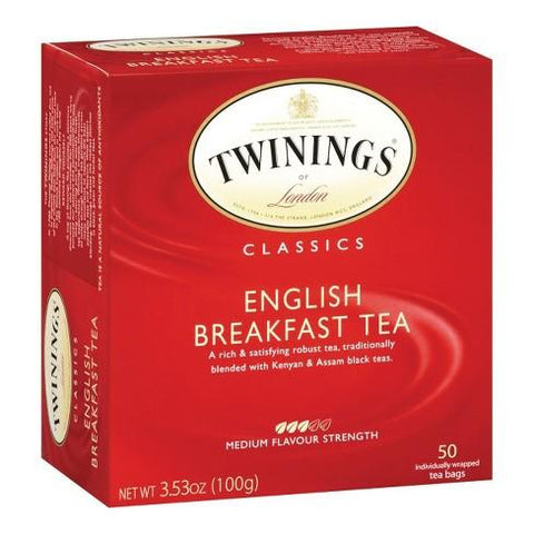 Twining's English Breakfast 50 Bags