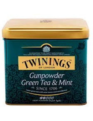 Twining's Goldline Gunpowder Green Tea & Mint 200gm