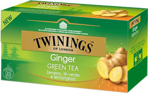 Twining's Green Tea Ginger 20 Bags