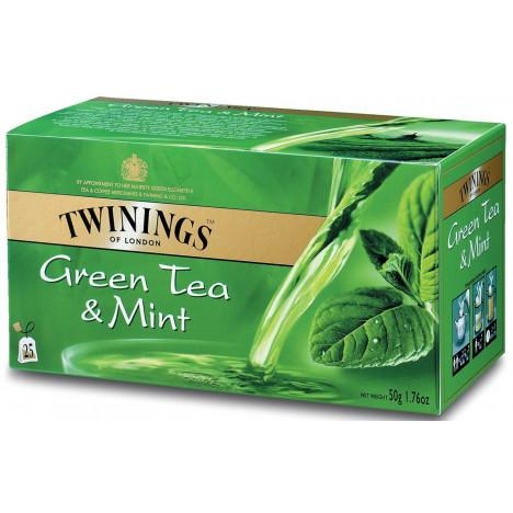 Twining's Green Tea Mint 20 Bags