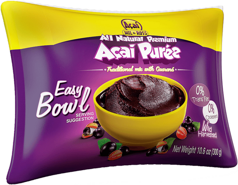 Acai Puree with Guarana Frozen 7.2 KG