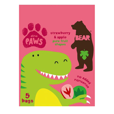 Paws Multipack Dino - Strawberry