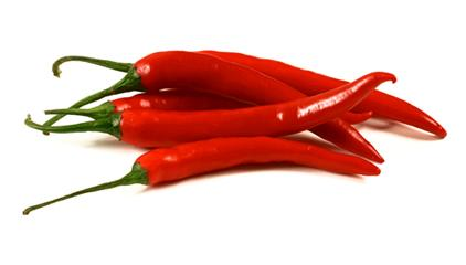 Organic Red Hot Chili Pepper