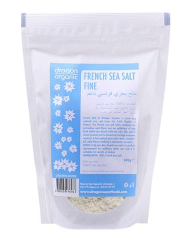 Dragon Superfoods Pure French Sea Salt Fine