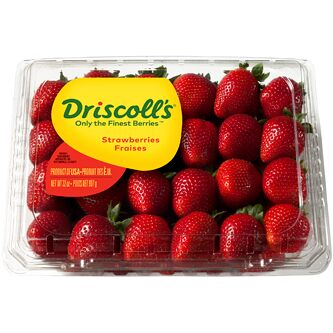 Driscoll's Strawberry 400 to 500 grams approximately