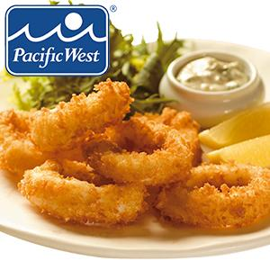Frozen Raw Panko Coated Squid Rings