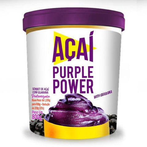 Sorbet Acai Purple Power with Guarana