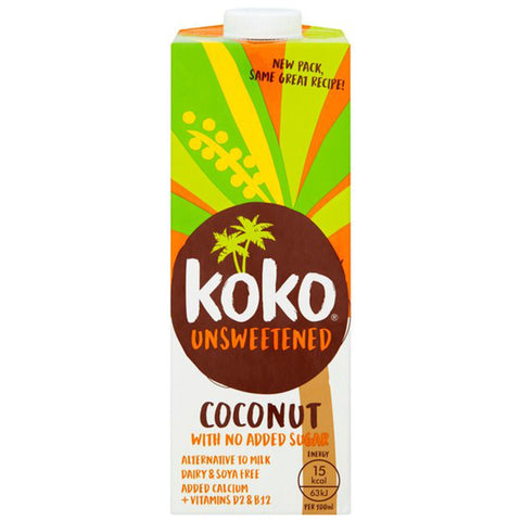 Koko Coconut Milk Unsweetened UHT