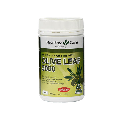 Natural High Strength Olive Leaf 3000