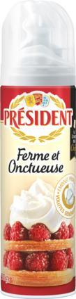 Président whipped  Creme 500 ml