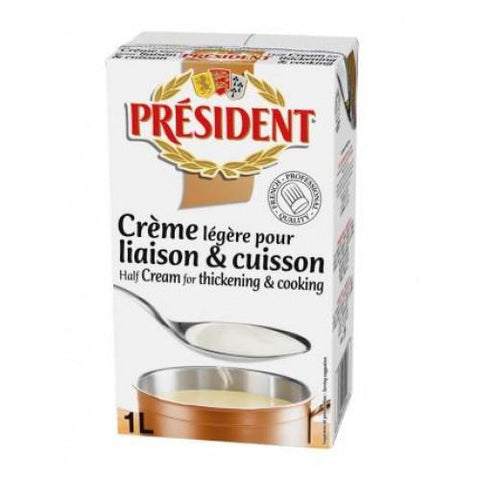 Président Half Cream for Thickening & Cooking 1L