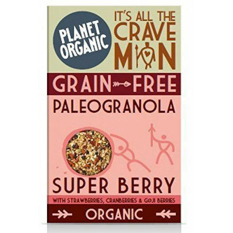 Paleo Granola Super Berry