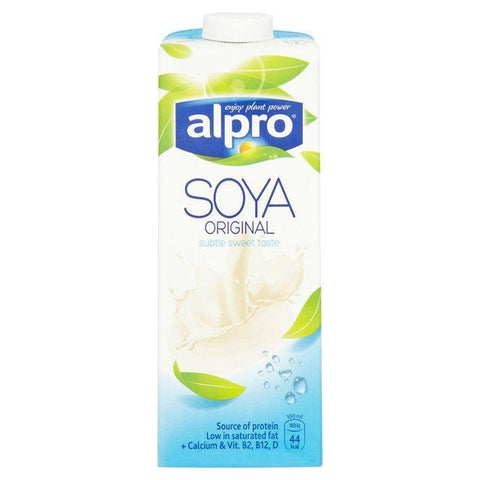 From Belgium Dairy Alpro Soya Original