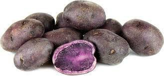 From France Vegetables Purple Potatoes
