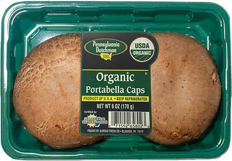 From Holland Vegetables Organic Portobello Mushroom
