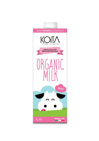 Buy Organic Koita Skim Milk 1L | QualityFood.ae|Dairy & Cheese |From Italy Online food delivery Dubai Abu Dhabi and Sharjah
