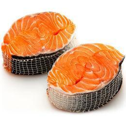 From Norway Seafood Farm-Raised Boneless Salmon Steak