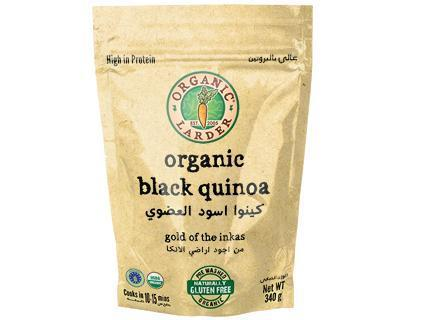 From Peru Rice and Grains Organic Black Quinoa
