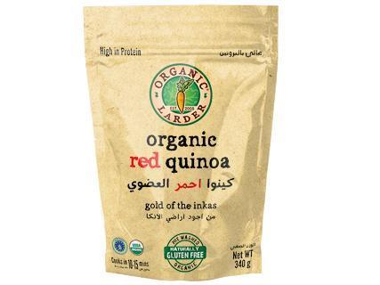 From Peru Rice and Grains Organic Red Quinoa